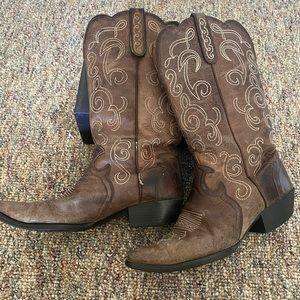 Justin Cowboy Boots Puma L2702